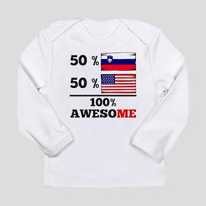 Half Slovenian Half American Long Sleeve T-Shirt