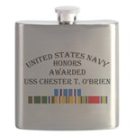 USS Chester T Obrien Flask