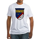 USS KNOX Fitted T-Shirt