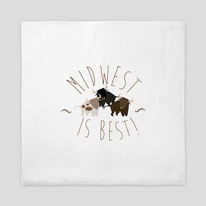 Midwest Is Best Queen Duvet