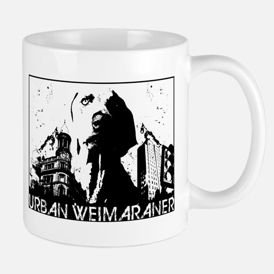 Urban Weimaraner Mug