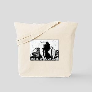 Urban Weimaraner Tote Bag