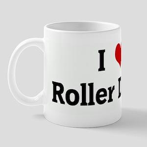 I Love Roller Derby Mug
