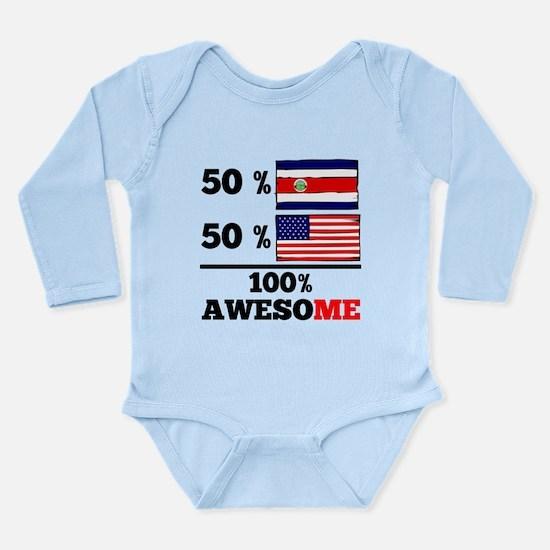 Half Costa Rican Half American Body Suit