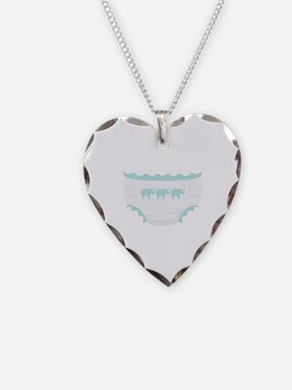 Baby Diaper Elephants Necklace
