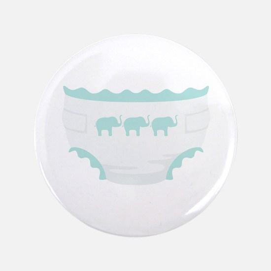 Baby Diaper Elephants Button
