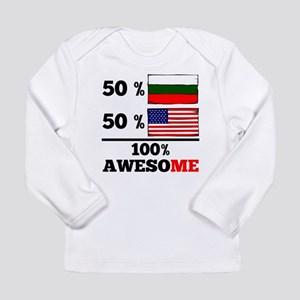 Half Bulgarian Half American Long Sleeve T-Shirt