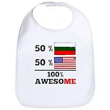 Half bulgarian Cotton Bibs