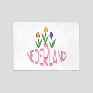 Nederland 5'x7'Area Rug