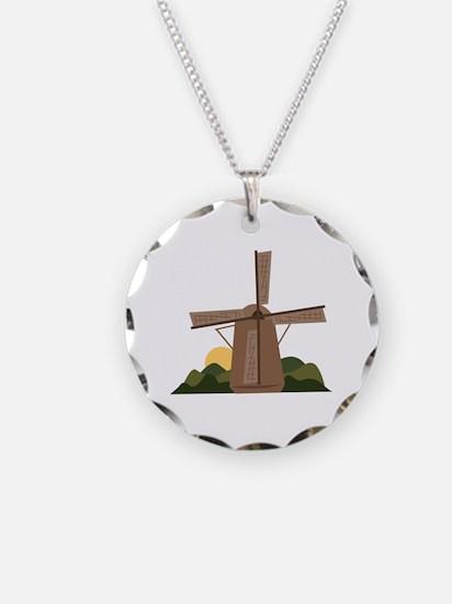 Dutch Windmill Necklace