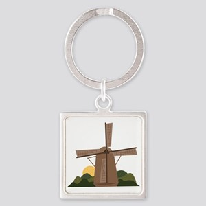 Dutch Windmill Keychains