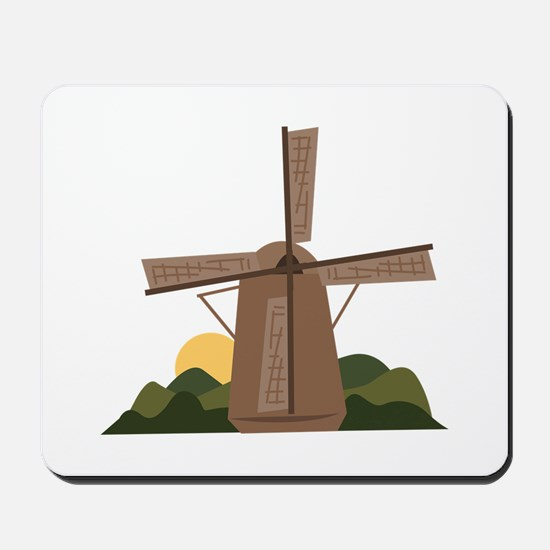 Dutch Windmill Mousepad
