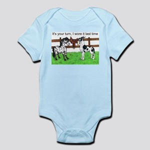 C H Your Turn Infant Bodysuit