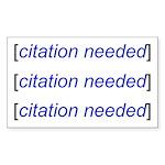 Citation Needed Sticker