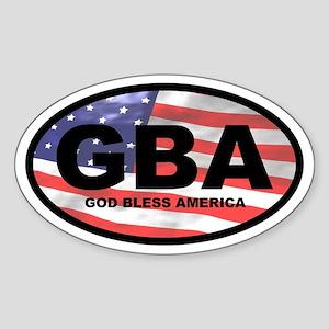 GBA Oval Sticker