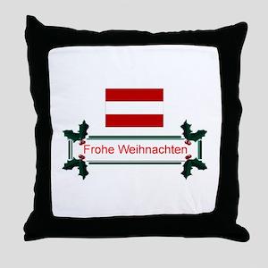 Austrian Frohe.. Throw Pillow