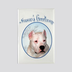 Dogo Season's Rectangle Magnet