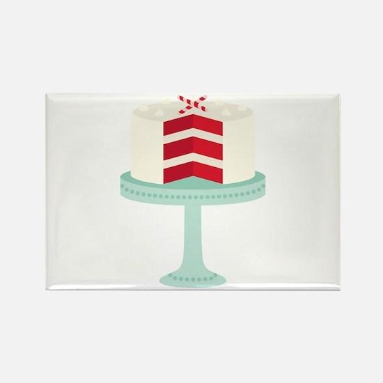 Red Velvet Cake Magnets