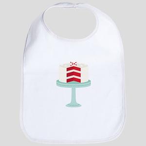 Red Velvet Cake Bib