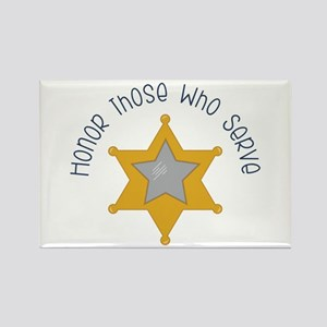 Honor those who serve Magnets