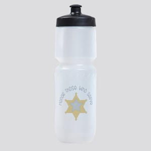 Honor those who serve Sports Bottle