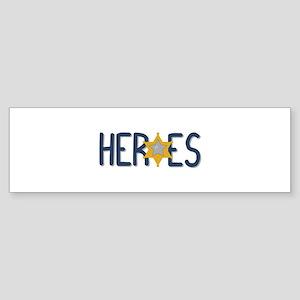 Heroes Bumper Sticker