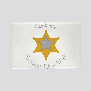 National police week Magnets