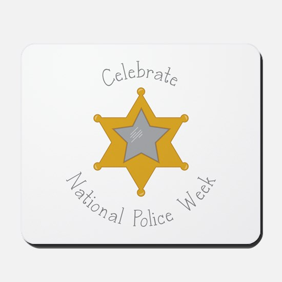 National police week Mousepad