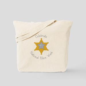 National police week Tote Bag