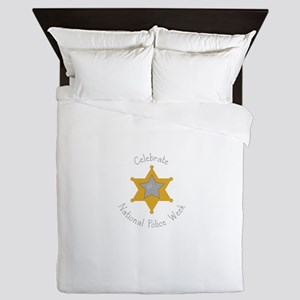 National police week Queen Duvet