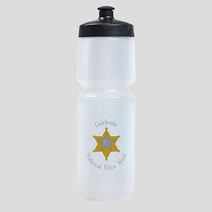 National police week Sports Bottle