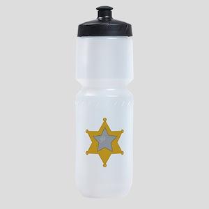 Police Badge Sports Bottle