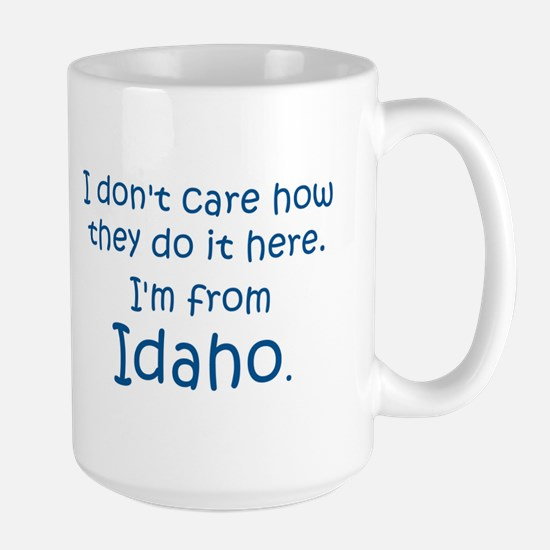 From Idaho Large Mug