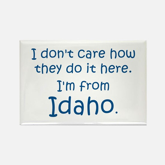 From Idaho Rectangle Magnet