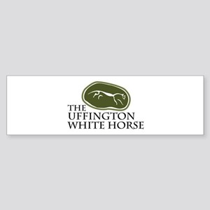 The Uffington White Horse Bumper Sticker