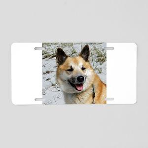 IcelandicSheepdog002 Aluminum License Plate