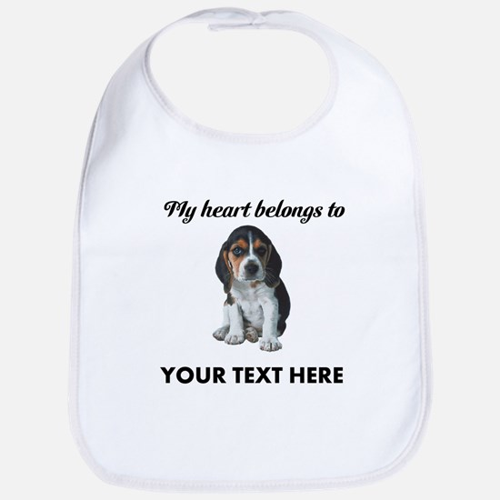 Personalized Beagle Custom Bib