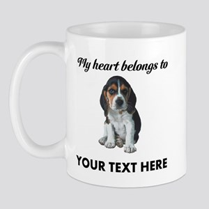 Personalized Beagle Custom Mug