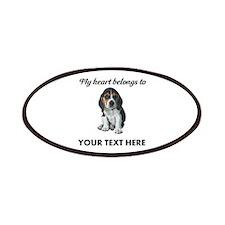 Personalized Beagle Custom Patch