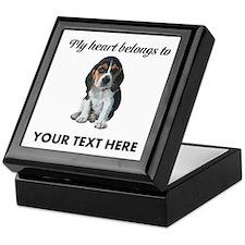 Personalized Beagle Custom Keepsake Box
