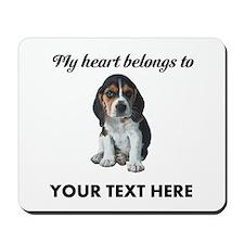 Personalized Beagle Custom Mousepad