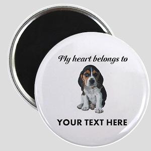Personalized Beagle Custom Magnet