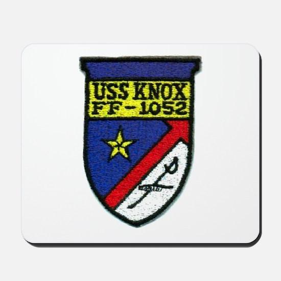 USS KNOX Mousepad
