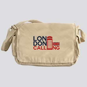 London Calling Messenger Bag