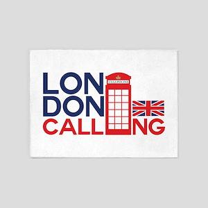 London Calling 5'x7'Area Rug