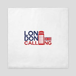 London Calling Queen Duvet