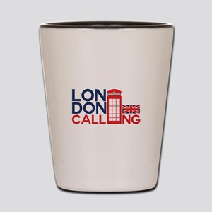London Calling Shot Glass