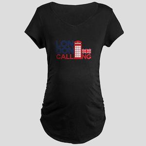 London Calling Maternity T-Shirt