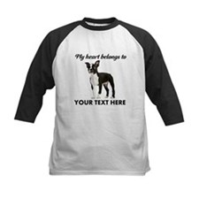 Personalized Boston Terrier Kids Baseball Jersey