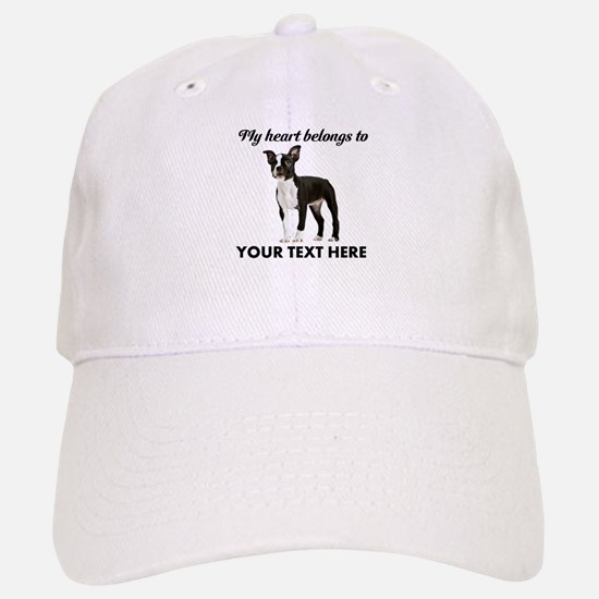 Personalized Boston Terrier Baseball Baseball Cap